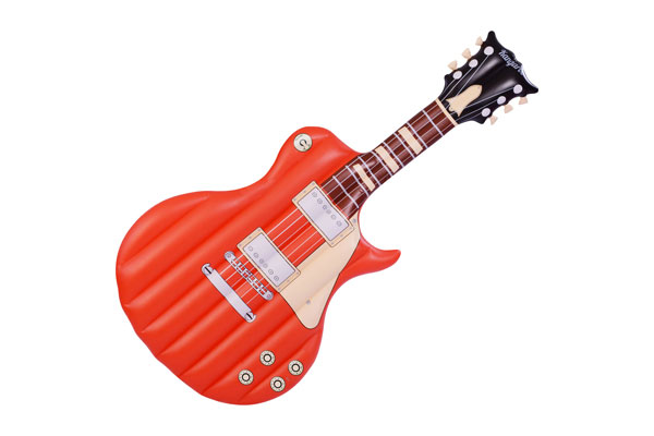 inflatable giant electric guitar float