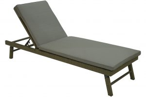 Adjustable Armless Chaise Lounge