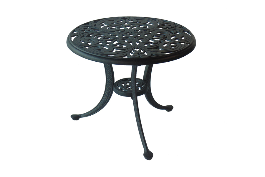 "21"" Round Outdoor Side Table"