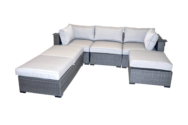 outdoor small sectional
