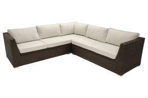 Outdoor sectional with storage