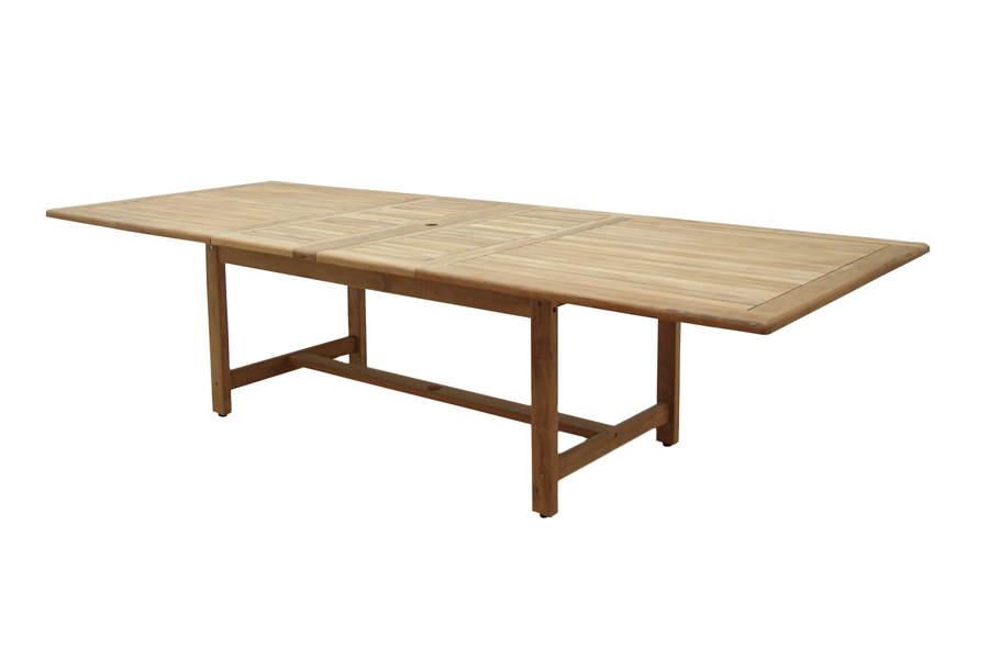 47″ X 87″/118″ Double Extension Dining Table