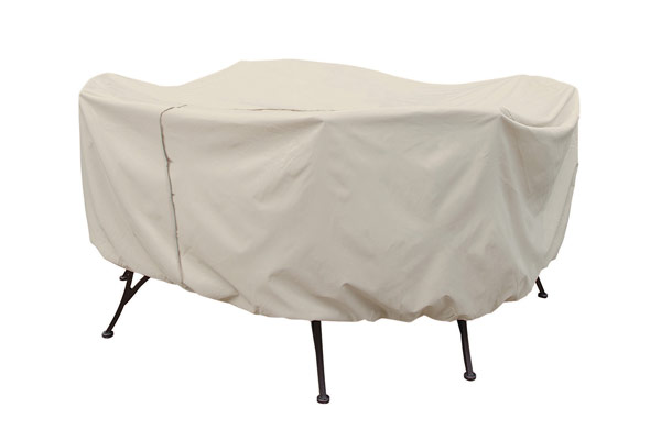 72″ Square Table and Chair Cover