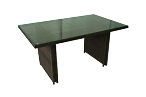 33″ x 57″ High Top Coffee Table Brown