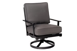 OUTDOOR SWIVEL LOUNGE CHAIR