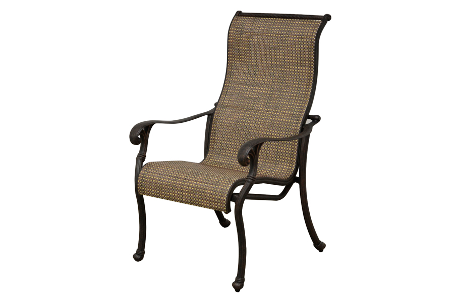 High Back Sling Dining Chair