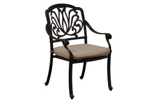 Outdoor Cast Aluminum Dining Chair