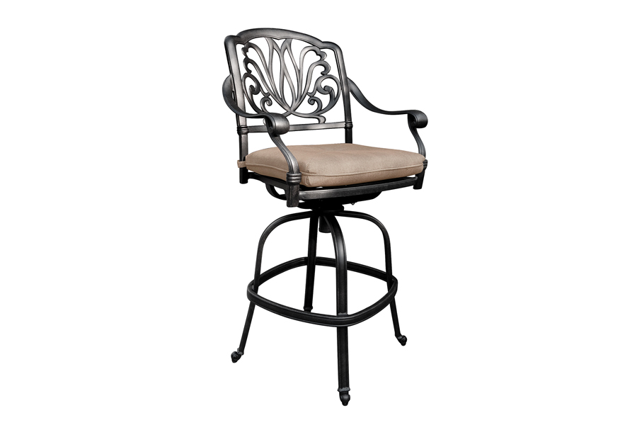 Outdoor Swivel Bar Chair
