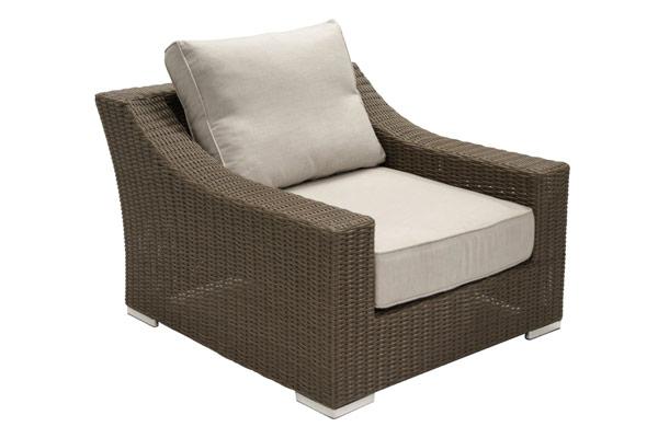 Resin Wicker Deep Seating Club Chair