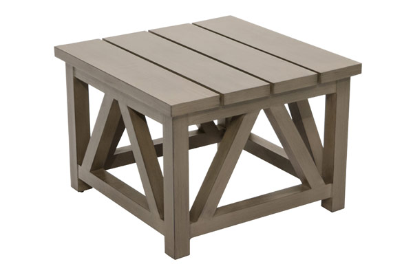 "24"" Square Side Table"