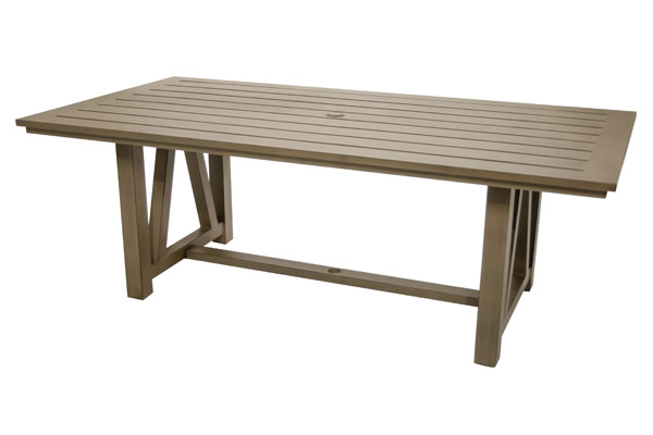 42″ x 84″ Slat Aluminum Table