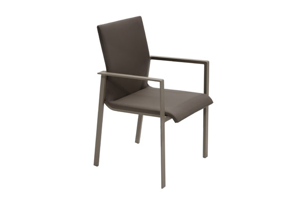 Padded Sling Dining Chair
