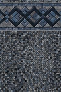 Titan Ridge With Dark Grey Mosaic