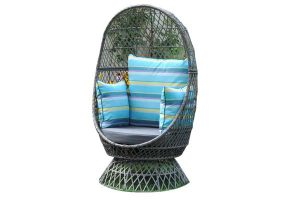 Addison 360 Swivel Basket Chair