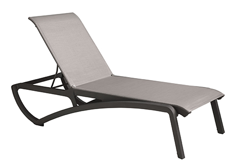 Chaise Lounge – Volcanic Black