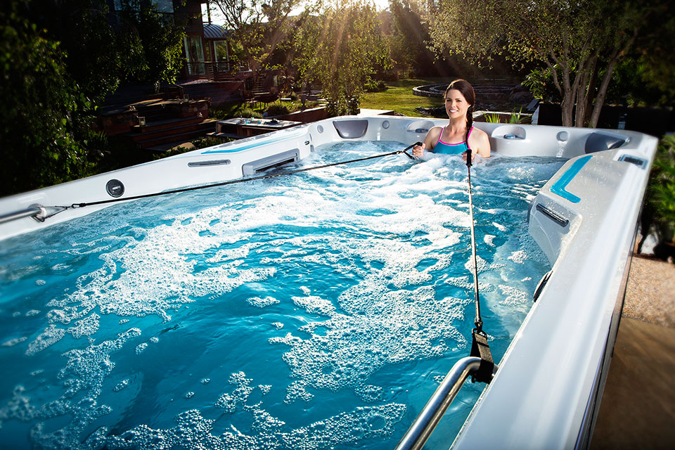 E700 Endless Pool Fitness System - Boldt Pools & Spas - Gallery
