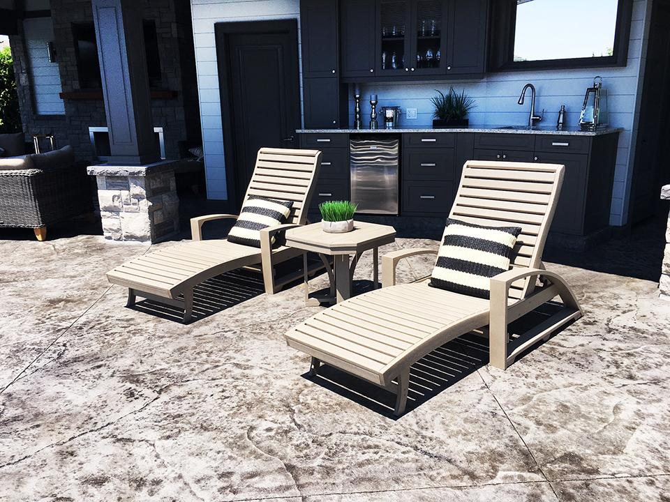 See The Malo S Backyard Patio Showcase Boldt Pools Amp Spas