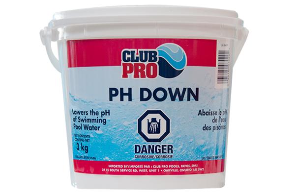 Club Pro Ph Down 3kg