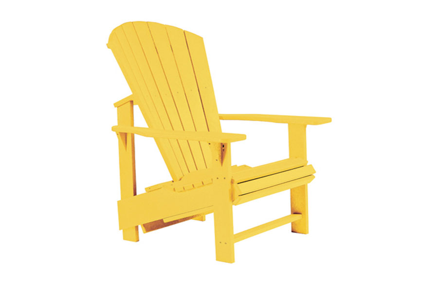 Regular Chair – Yellow