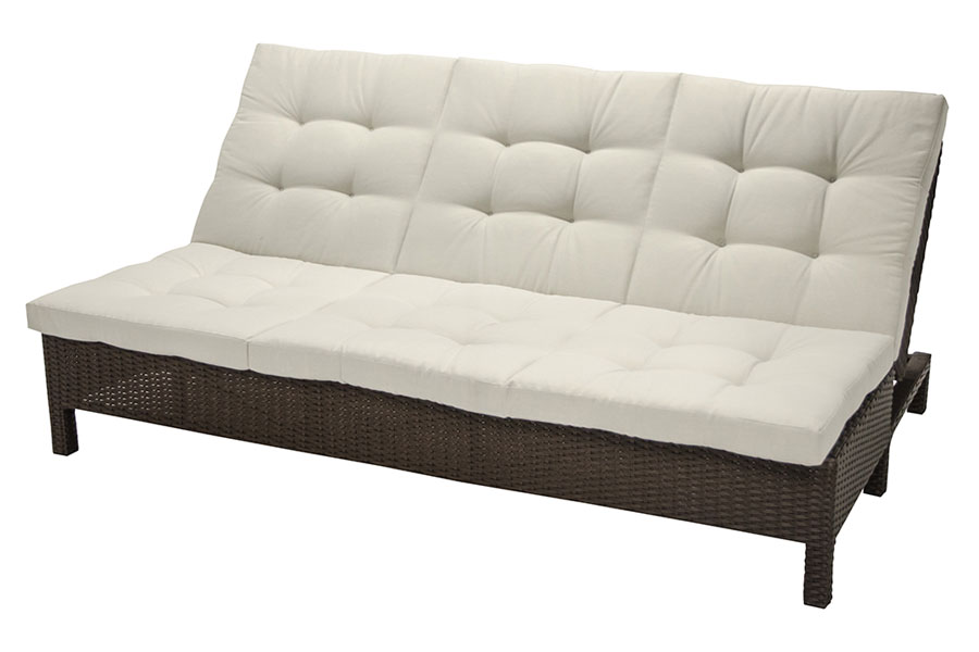 Cream Sofa Chaise Lounge
