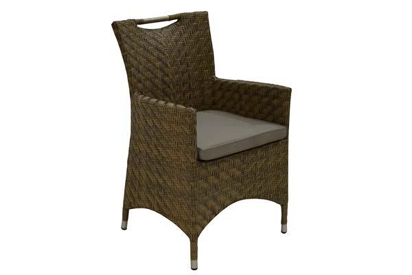 Edinburg Dining Chair Beige