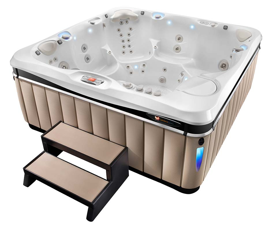 2016 Caldera Utopia Geneva Hot Tub - Boldt Pools and Spa - Gallery