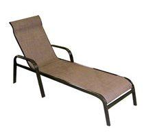Adjustable Chaise Lounge Bronze