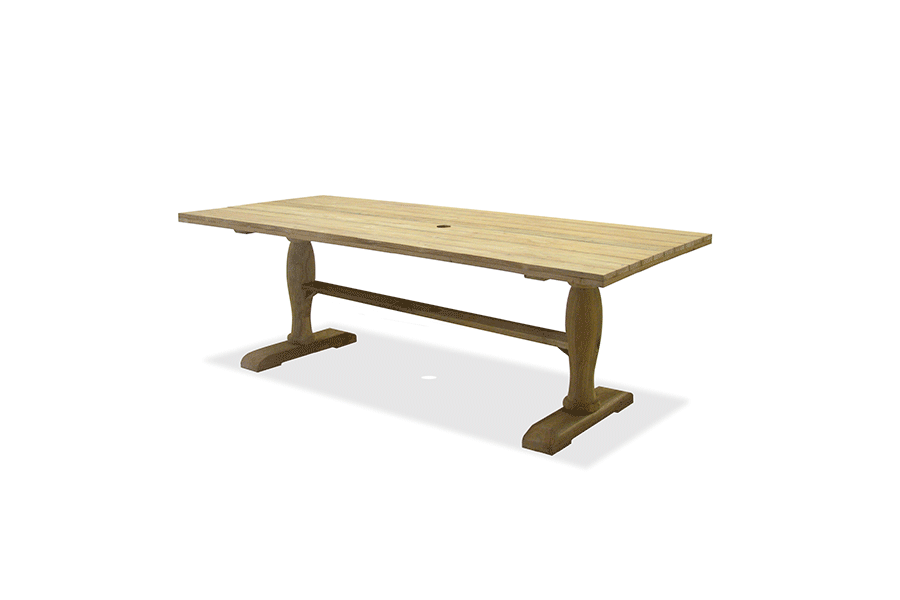 Rectangle Teak Dining Table