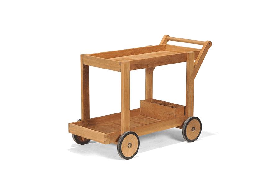 Teak Tea Trolley