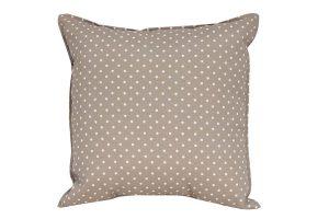 Beige Dots Cushion