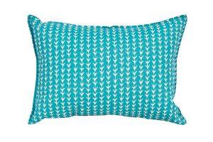 Aqua Arrows Cushion