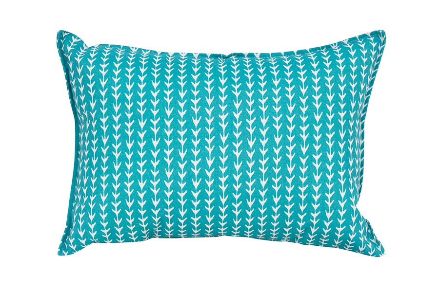 Aqua Arrows Cushion