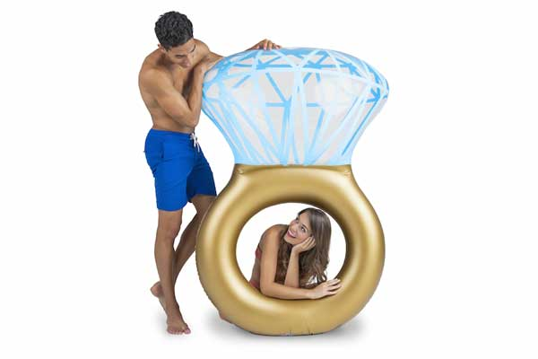 Bling Ring Pool Float