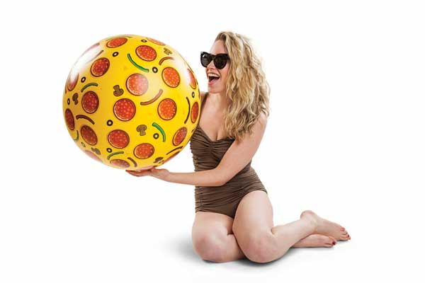 Giant Pizza Beach Ball