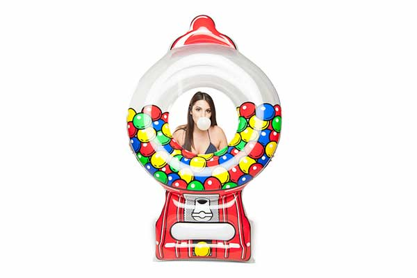 Giant Pool Float – Gumball Machine