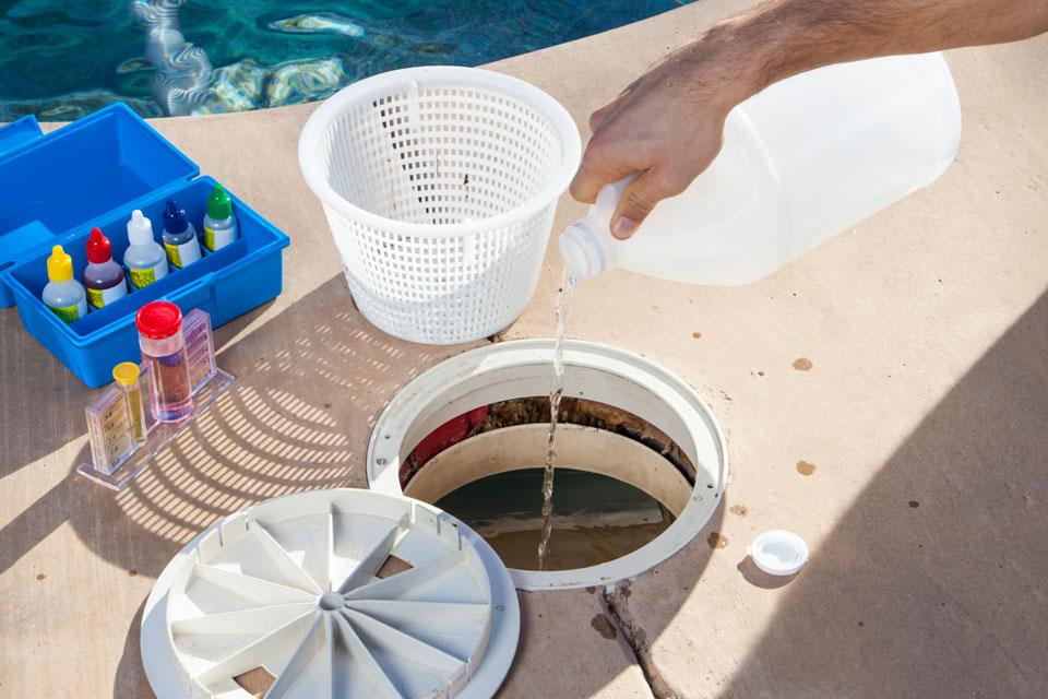 Step 3 - Add Pool Clarifier