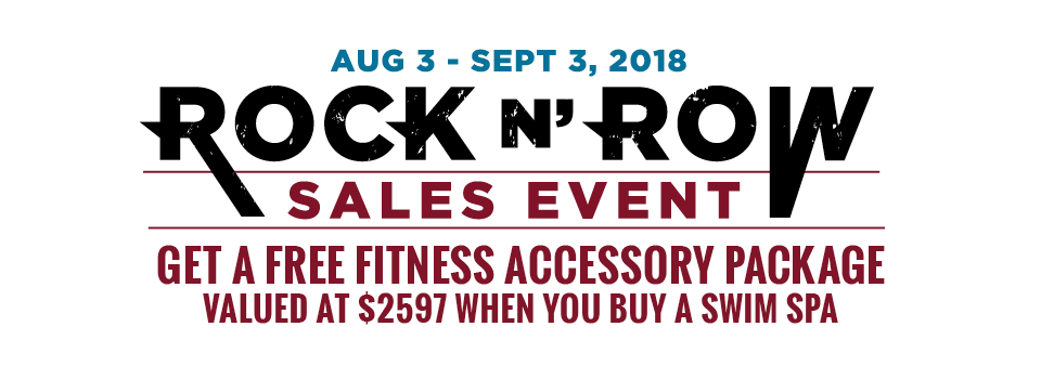 Free Fitness Package with Endless Pool Purchase