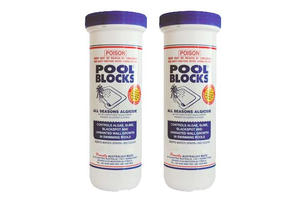 AlgaeFree Pool Blocks 600g 2 Pack Boldt Pools & Spas