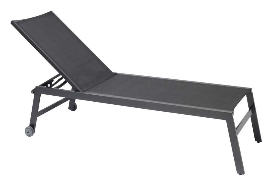 Bali Chaise Lounge Carbon