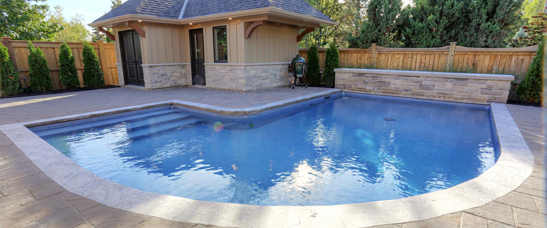 Pelham Lazy L Inground Pool Boldt Pools & Spas