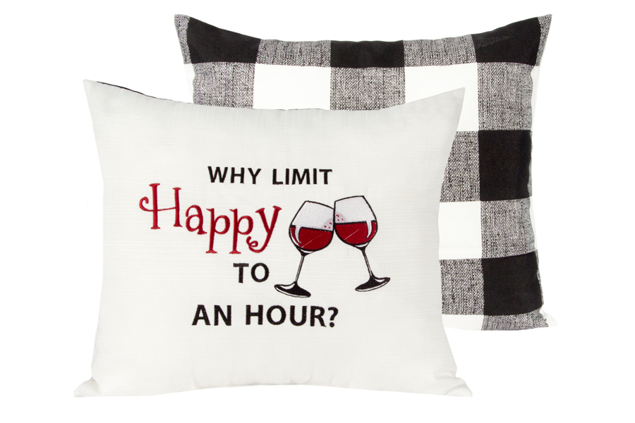 happy hour pillow