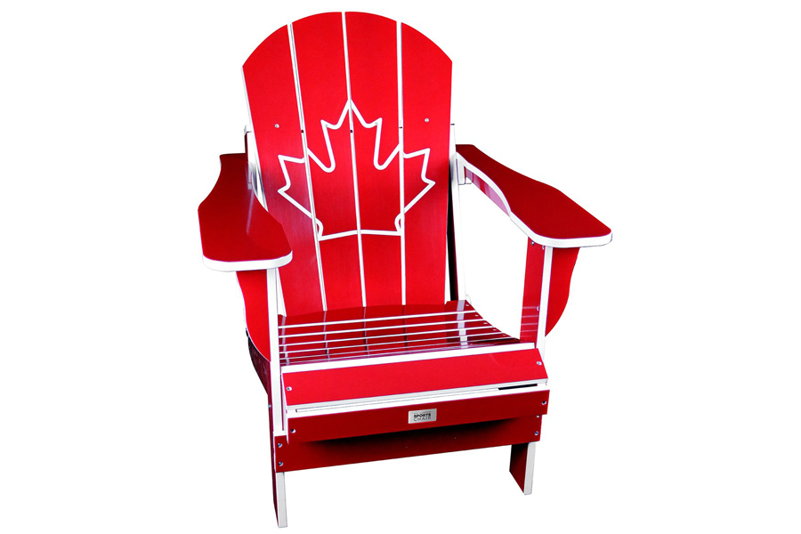 red canada chair adirondack chair