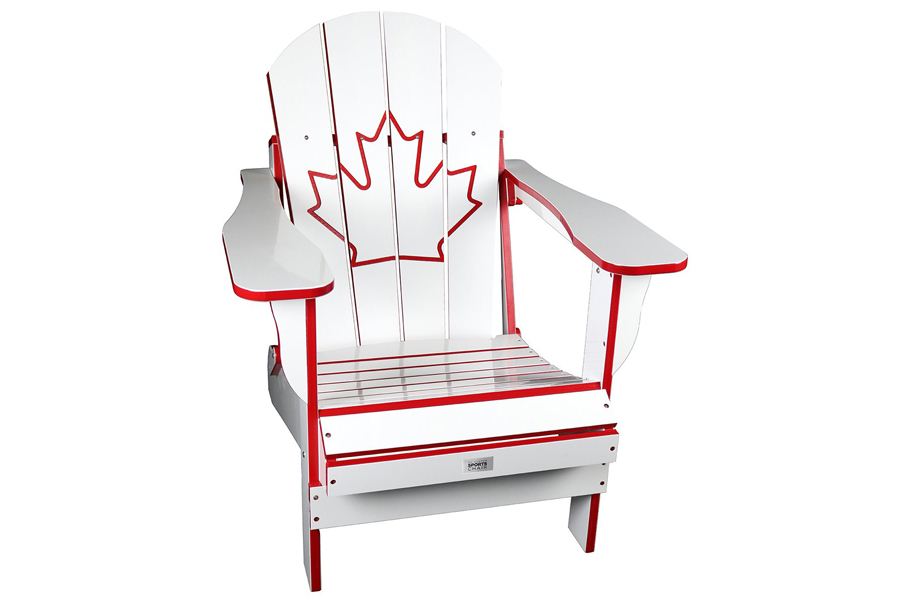 white canada chair adirondack chair Boldt Pools & Spas