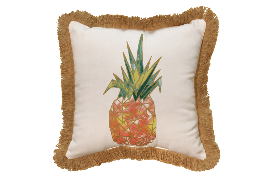 Square Pineapple Pillow