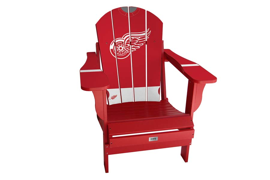 My Custom Sports Chair Red Wings Home