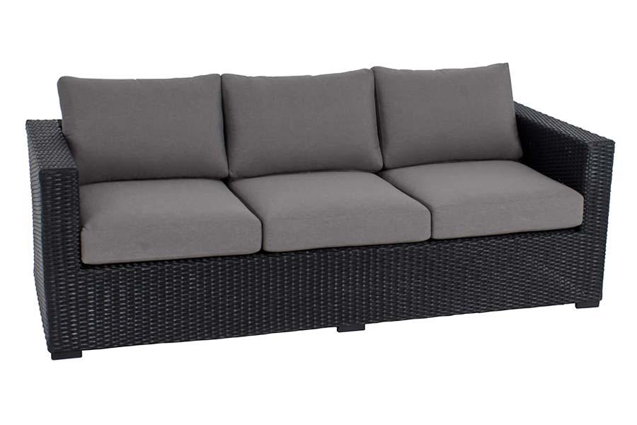 Mila Collection Sofa Black/Grey
