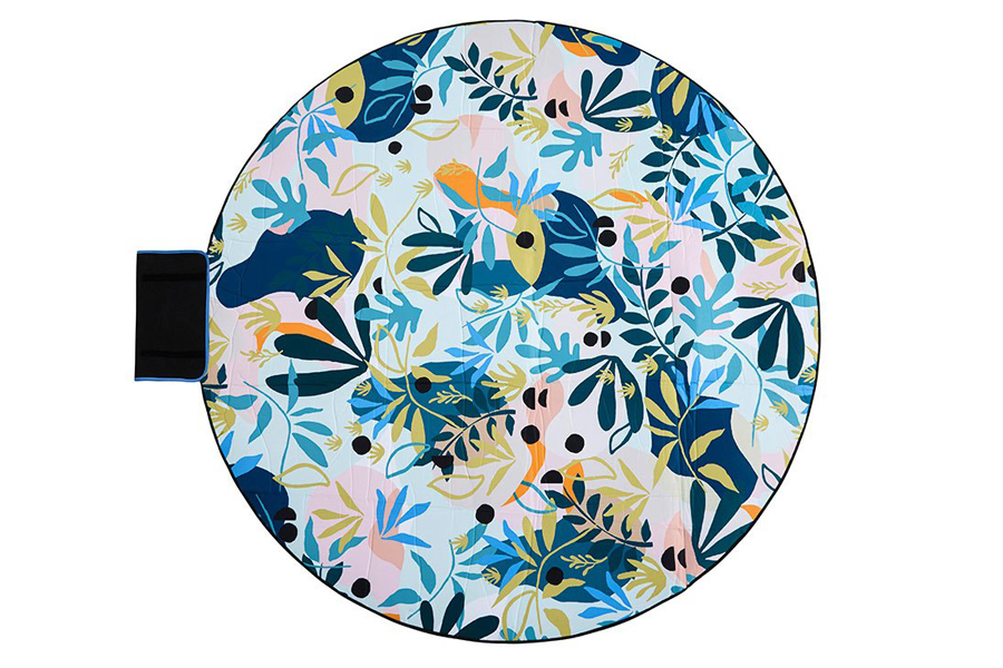 Eden 6' Round Outdoor Mat
