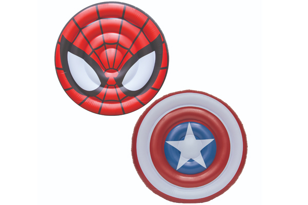 Marvel Oversized Inflatable Shield Floats