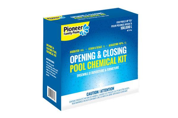 Boldt Pools & Spas Chemical Kit