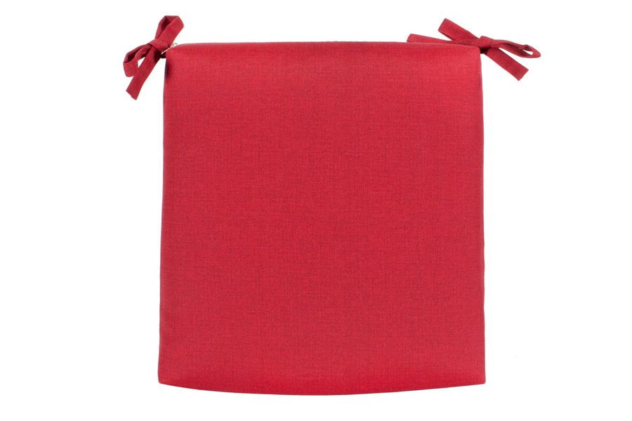 """18"""" x 18"""" Seat Pad Red"""